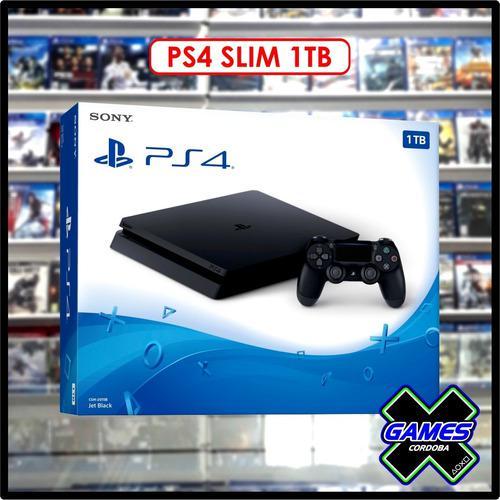 Ps4 slim 1tb - nueva en caja - garantia - local