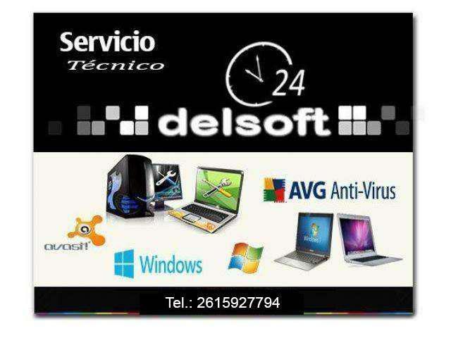 Servicio tecnico pc - notebook - netbook en mendoza
