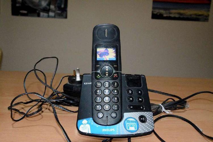 Telefono inalambrico philips cd645-como nuevo