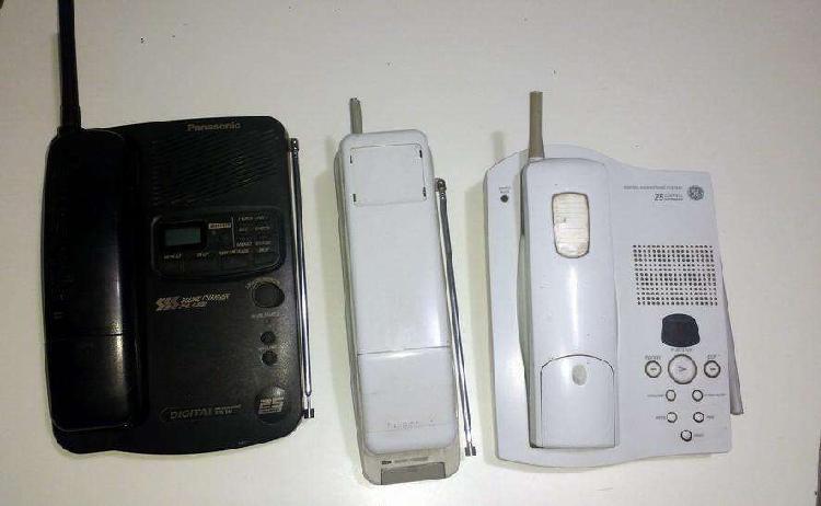 Telefonos inalambricos lote