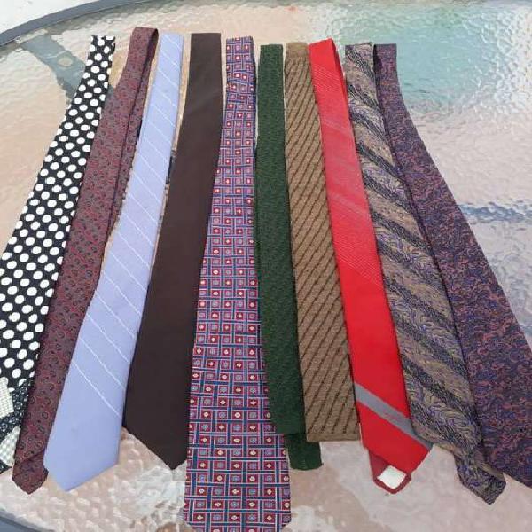 Vendo corbatas de seda italiana de marcas