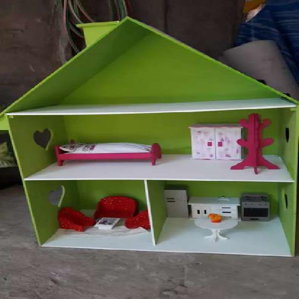 Vendo casitas de muñecas pintadas
