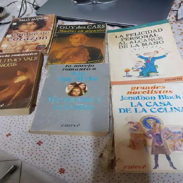 Vendo desde $200 libros grandes novelistas
