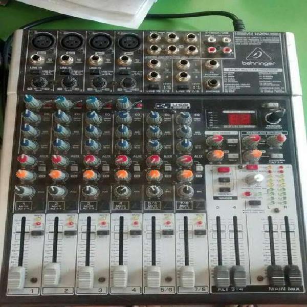 Consola behringer xenyx x1204 usb