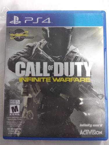 Call of duty infinite warfare ps4 juego fisico usado envios