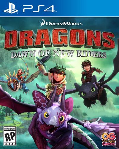 Dragons dawn of new riders ps4 juego fisico original sellado