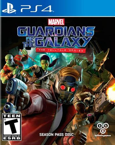 Marvel guardians of the galaxy telltale ps4 juego físico