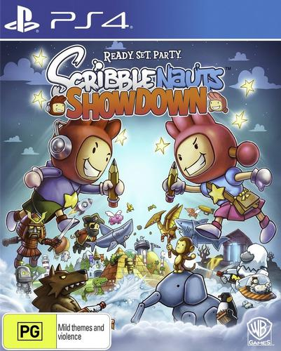 Scribblenauts showdown ps4 juego cd fisico original sellado