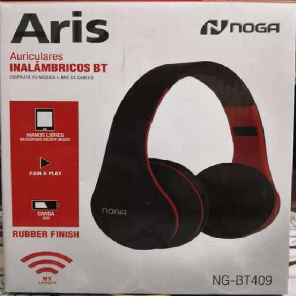 Auriculares inalambricos noga aris ng-bt409