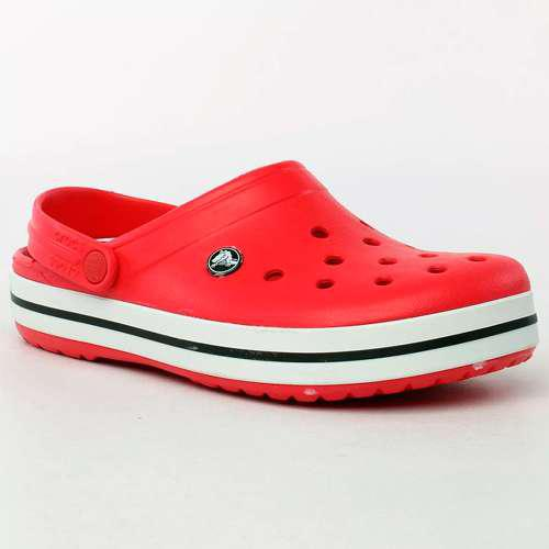 Crocs crocband unisex adulto-juvenil original rojo