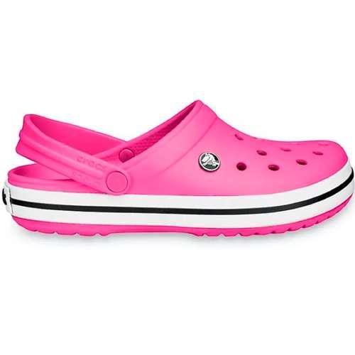 Crocs crocband unisex adulto-juvenil original rosa