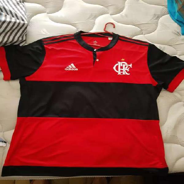 Camiseta flamengo adidas temporada 17/18