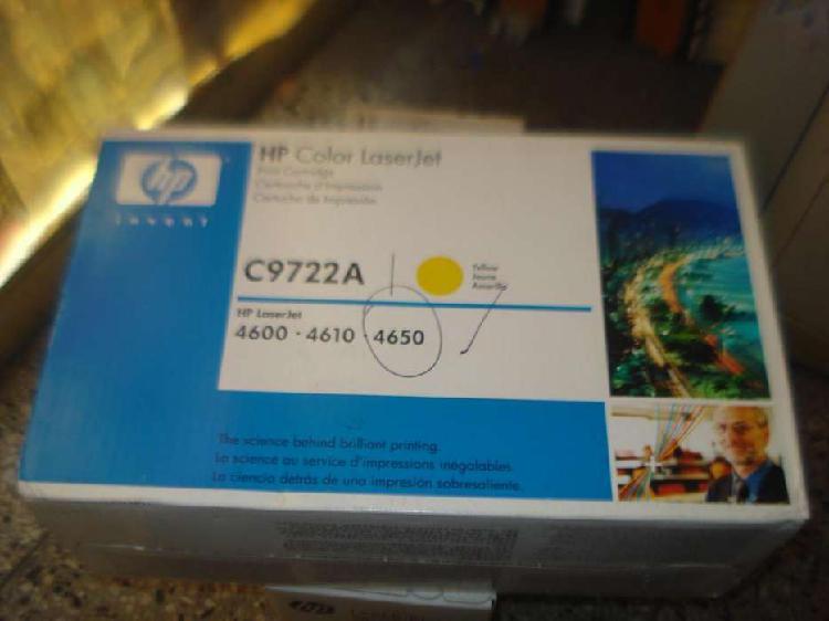 Cartucho toner hp original c9722a caja cerrada venc no envio