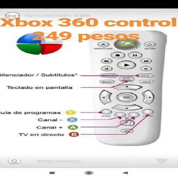 Control xbox 360 último