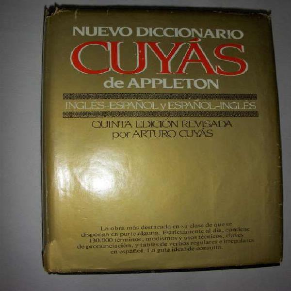 Diccionario inglés - español y español - inglés. cuyás