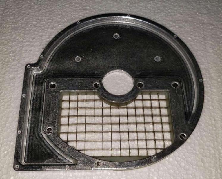 Disco corte cubo 10mm x 10 mm hlc300 procesadora dynamh