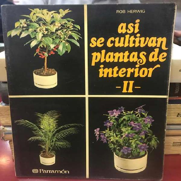 Libro así se cultivan plantas de interior 2