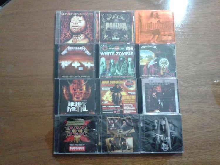 Lote cds heavy metal usados y nuevos cerrados importados -