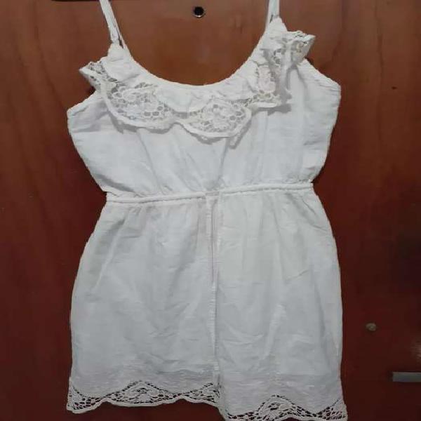 Vestido soltero blanco