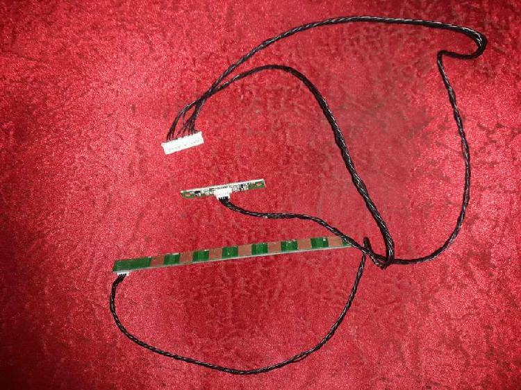 Receptor de control remoto y botonera ken brown led39e700kb