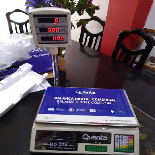 Balanza digital 40 kg nueva