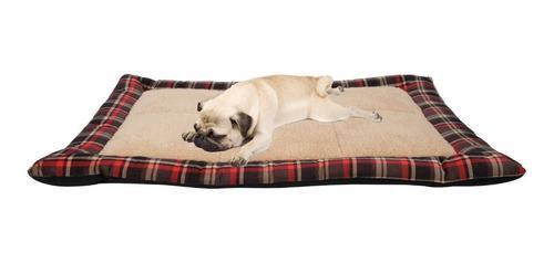Cama perros gatos importada dogit colchoneta red 80x60