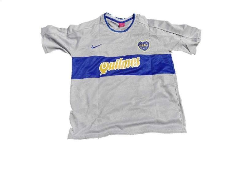 Camiseta boca retro gris 2000