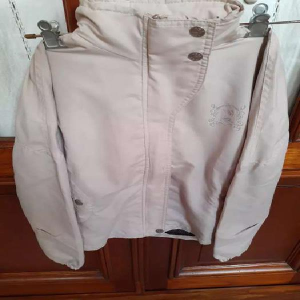Campera impermeable mujer, talle s