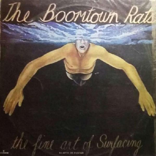 Disco vinilo the boomtown rats el arte de flotar disco