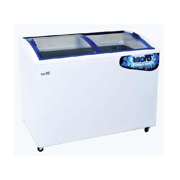 Freezer exhibidor vidrio curvo 350 lts teora
