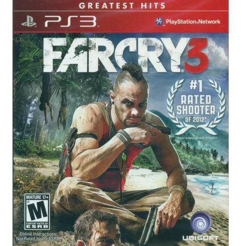Far cry 3 ps3 juego cd original fisico sellado en stock
