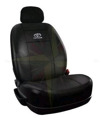 Funda cubre asiento cuero toyota etios corolla hilux (juego
