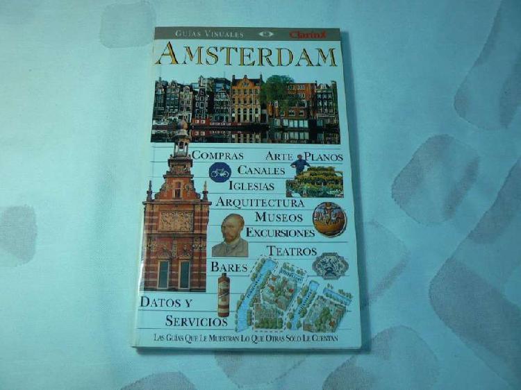 Guía visual clarín de amsterdam (holanda). edición 1999.
