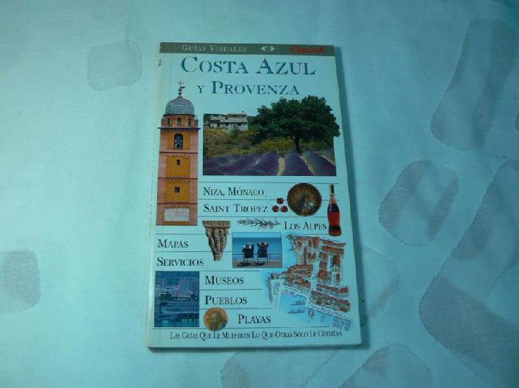Guía visual clarín de costa azul y provenza (francia).