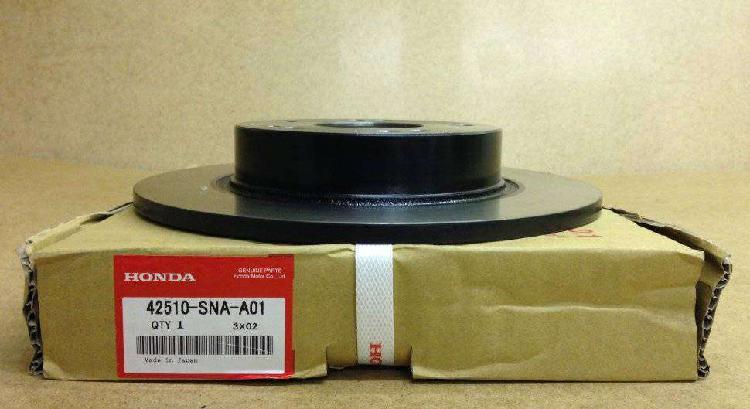 Honda disco de freno trasero civic 12 - 15 42510-tr3-a01