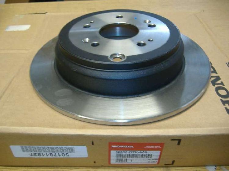 Honda disco de freno trasero cr-v 10 - 11 42510-sxs-a00