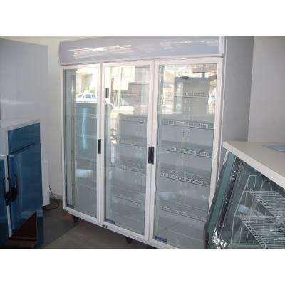 Heladera exhibidora vertical 3 puertas