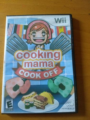 Juego nintendo wii cooking mama cook off