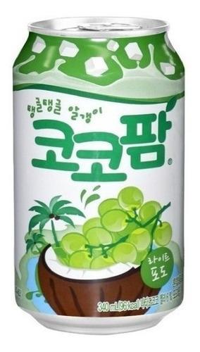 Jugo coco palm 238 ml coreano importado exclusivo bebida