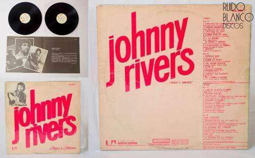 Long play de vinilo de johnny rivers