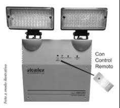 Luz de emergencia atomlux industrial modelo 8091