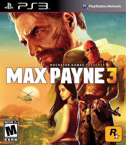 Max payne 3 ps3 juego cd blu-ray nuevo original físico