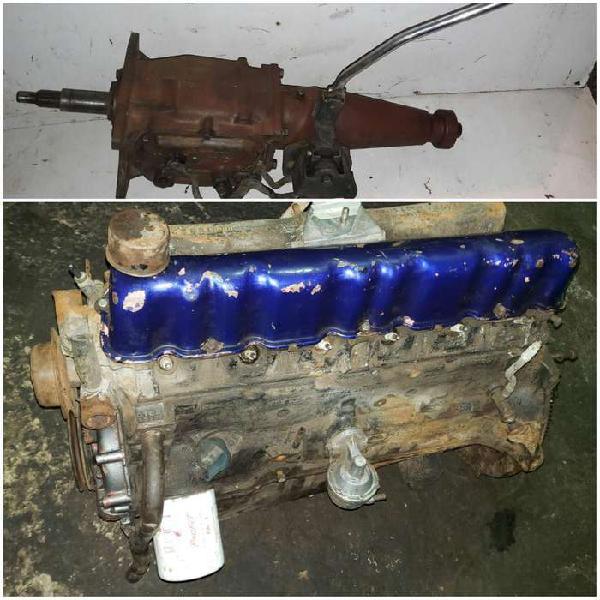 Motor y caja cambios ford falcon