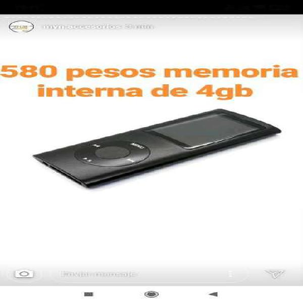 Mp4 4gb memoria interna ultimo
