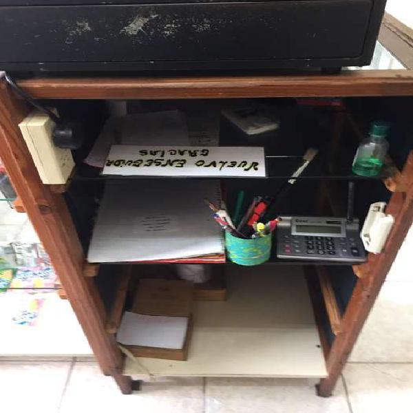 Mueble de apoyo registradora