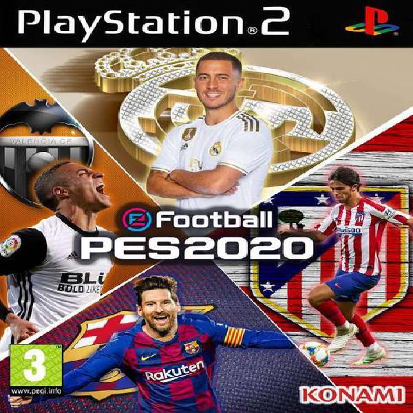 Pes 2020 para play 2 !!