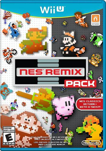 Pack juegos digitales wii u. nes remix pack + pack oferta!