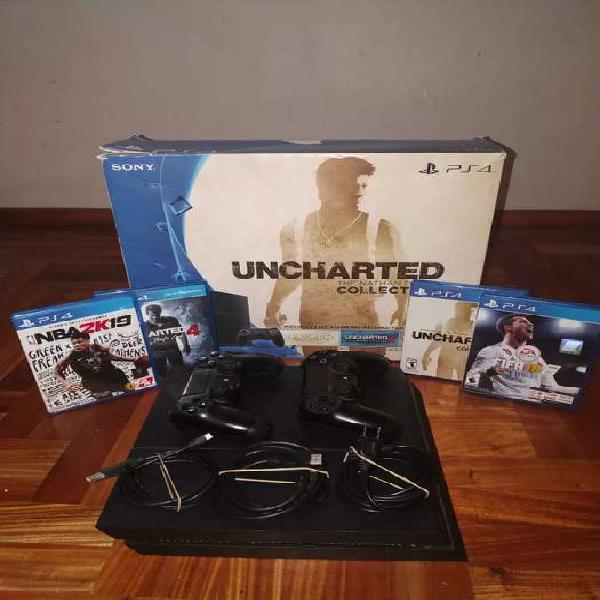 Playstation 4 fat 1tb, excelente estado, 1 joystick, 4