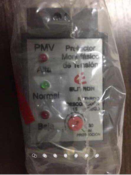 Protector monofasico de tension elitron