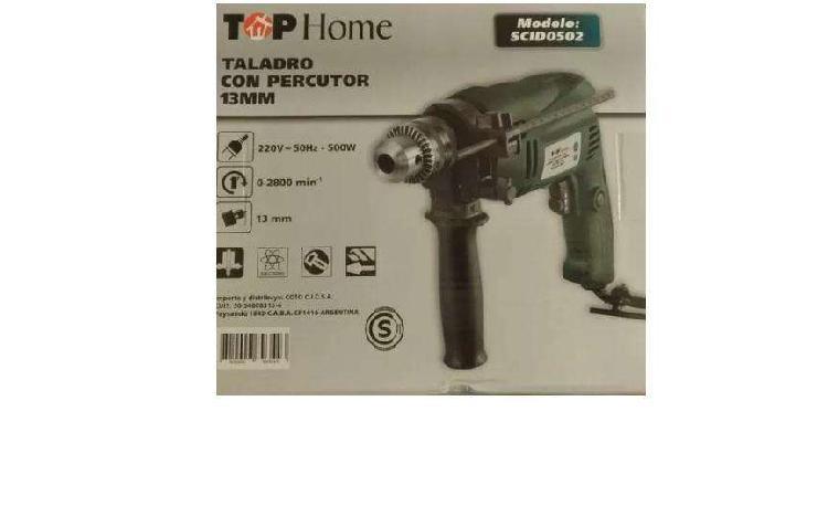 Taladro Top Home 13mm 500watt Oferta con Percutor